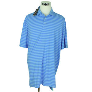 NEW RLX GOLF Ralph Lauren Mens Polo Shirt XXL Blue